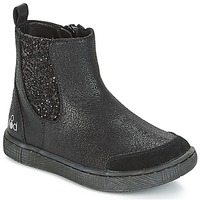 Shoes Girl Mid boots Mod'8 BLABLA Black