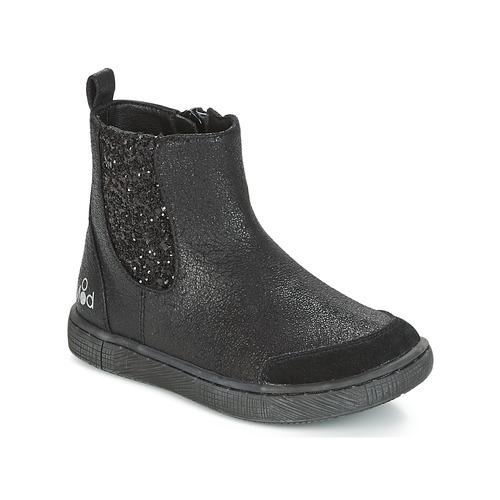 Shoes Girl Mid boots Mod'8 BLABLA Black