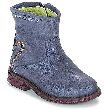 Shoes Girl Mid boots Agatha Ruiz de la Prada 181970 VAGABUNDA Blue