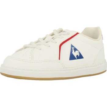 Shoes Girl Low top trainers Le Coq Sportif ICONS INF SPORT GUM White