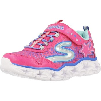 Shoes Girl Low top trainers Skechers GALAXY LIGHTS Pink
