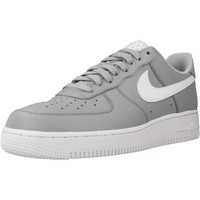 Shoes Men Low top trainers Nike AIR FORCE 1 07 Grey