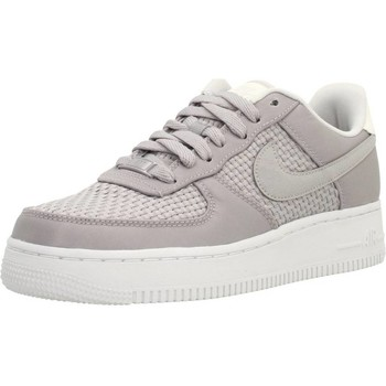 Shoes Women Low top trainers Nike AIR FORCE 1 &039;07 SE Grey