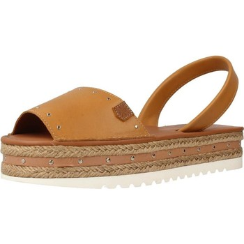 Shoes Women Espadrilles Menorquinas Popa CANNES Brown