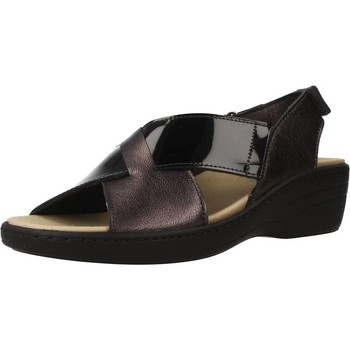 Shoes Women Sandals Pinosos 7381 Black
