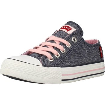 Shoes Girl Low top trainers Levi's VTRU0008T Blue