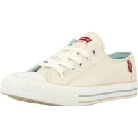 Shoes Girl Low top trainers Levi's VTRU0076T Gold