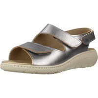 Shoes Women Sandals Pinosos 7479P Silver