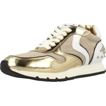 Shoes Women Low top trainers Voile Blanche JULIA HEEL BUBBLE Gold