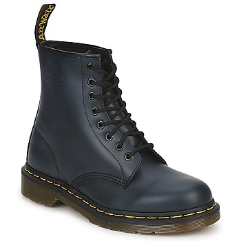 Shoes Mid boots Dr Martens Smooth NAVY