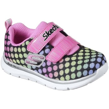 Shoes Girl Low top trainers Skechers Skech-Lite Lil&039; Dots Girls Trainers Multicolour