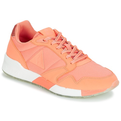 Shoes Women Low top trainers Le Coq Sportif OMEGA X W METALLIC Pink / Coral