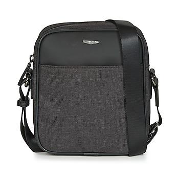 e914174adf4662 Bags Men Pouches / Clutches Hexagona MERCURE Black / Grey