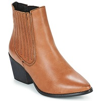 Shoes Women Ankle boots Musse & Cloud BECKY Cognac