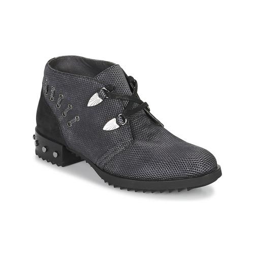 Shoes Women Mid boots Mam'Zelle XESTO Black