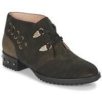 Shoes Women Mid boots Mam'Zelle XESTO Kaki