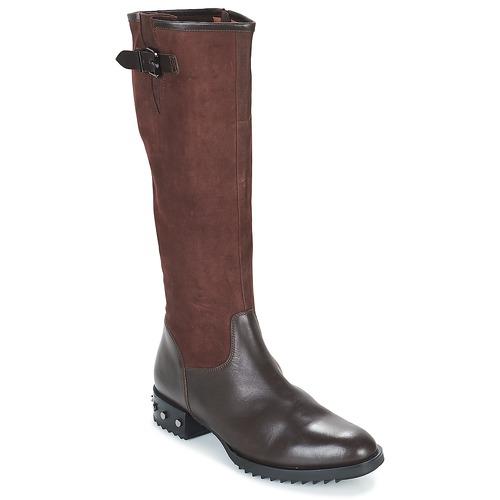 Shoes Women High boots Mam'Zelle XANE Brown