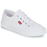 Shoes Women Low top trainers Levi's MALIBU BEACH White