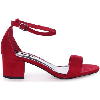 Shoes Women Sandals Linzi SANDY Red Suede