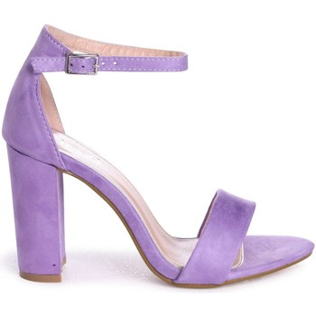 Shoes Women Sandals Linzi NELLY Lilac Suede