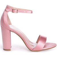 Shoes Women Sandals Linzi NELLY Pink Satin