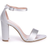Shoes Women Sandals Linzi NELLY Silver Satin