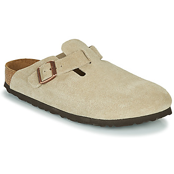 Shoes Women Clogs Birkenstock BOSTON SFB Taupe