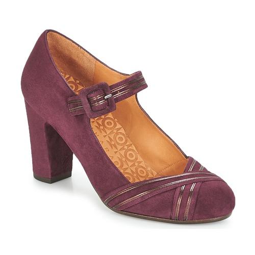 Shoes Women Heels Chie Mihara KALEI Bordeaux