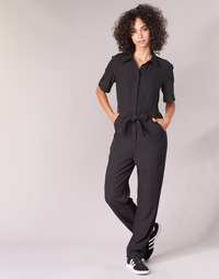 Clothing Women Jumpsuits / Dungarees G-Star Raw BRISTUM DC JUMPSUIT Black