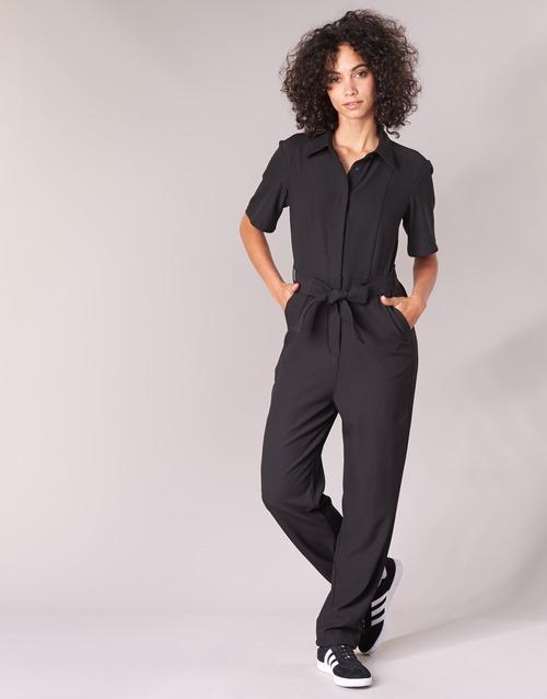 Clothing Women Jumpsuits / Dungarees G-Star Raw BRISTUM DC JUMPSUIT Black