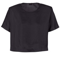Clothing Women Tops / Blouses G-Star Raw COLLYDE WOVEN TEE Black