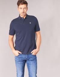 Clothing Men short-sleeved polo shirts G-Star Raw DUNDA POLO Marine