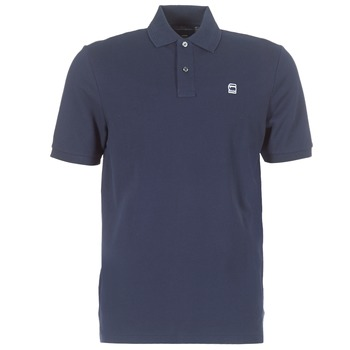 Clothing Men short-sleeved polo shirts G-Star Raw DUNDA POLO Marine
