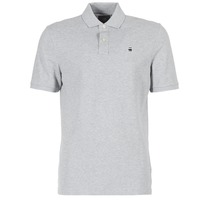 Clothing Men short-sleeved polo shirts G-Star Raw DUNDA POLO Grey