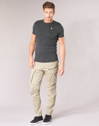 Clothing Men Cargo trousers G-Star Raw ROVIC ZIP 3D STRAIGHT TAPERED Beige