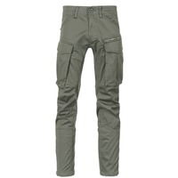 Clothing Men Cargo trousers G-Star Raw ROVIC ZIP 3D STRAIGHT TAPERED Grey / Green