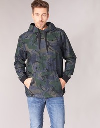 Clothing Men Jackets G-Star Raw STOR ANORAK OVERSHIRT Blue / Green