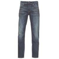 Clothing Men straight jeans G-Star Raw 3301 STRAIGHT Blue / Dark / Aged / Antic
