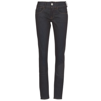 Clothing Women Skinny jeans G-Star Raw LYNN MID SKINNY Blue / Dark / Aged