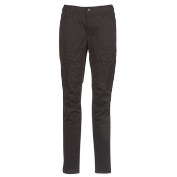 Clothing Women Cargo trousers G-Star Raw ROVIC MID SKINNY Black