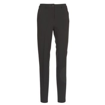 Clothing Women Chinos G-Star Raw BRONSON HIGH SKINNY PIPING CHINO Black