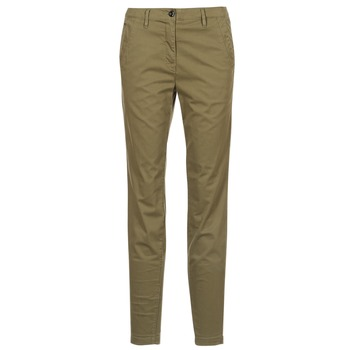 Clothing Women chinos G-Star Raw BRONSON MID SKINNY CHINO Kaki