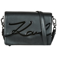 Bags Women Shoulder bags Karl Lagerfeld K/SIGNATURE SHOULDERBAG Black / Grey