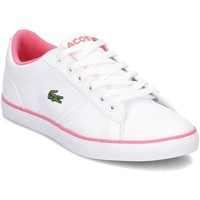 Shoes Children Low top trainers Lacoste Lerond White