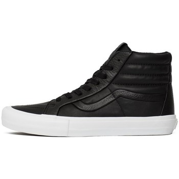 Shoes Men Hi top trainers Vans SK8HI Reissue White-Black
