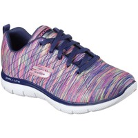 Shoes Women Trainers Skechers Flex Appeal 2.0 Reflections Womens Trainers Multicolour