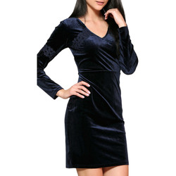 Clothing Women Short Dresses Infinie Passion Dress in navy blue 00W030094 Blue F Blue