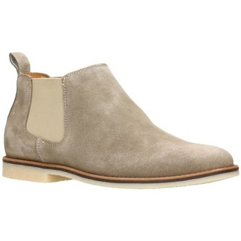 Shoes Men Mid boots Gino Rossi Ankel-Boots MSU040 Beige Man Spring/Summer Collection 2018 Beige
