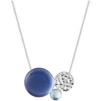 Watches Women Necklaces Skalli Necklace E14EB15EUVA Silver / Blue F Silver