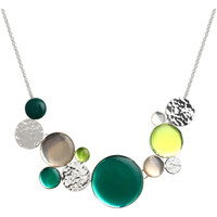 Watches Women Necklaces Skalli Necklace H13EB03VEVA Green / Silver F Green